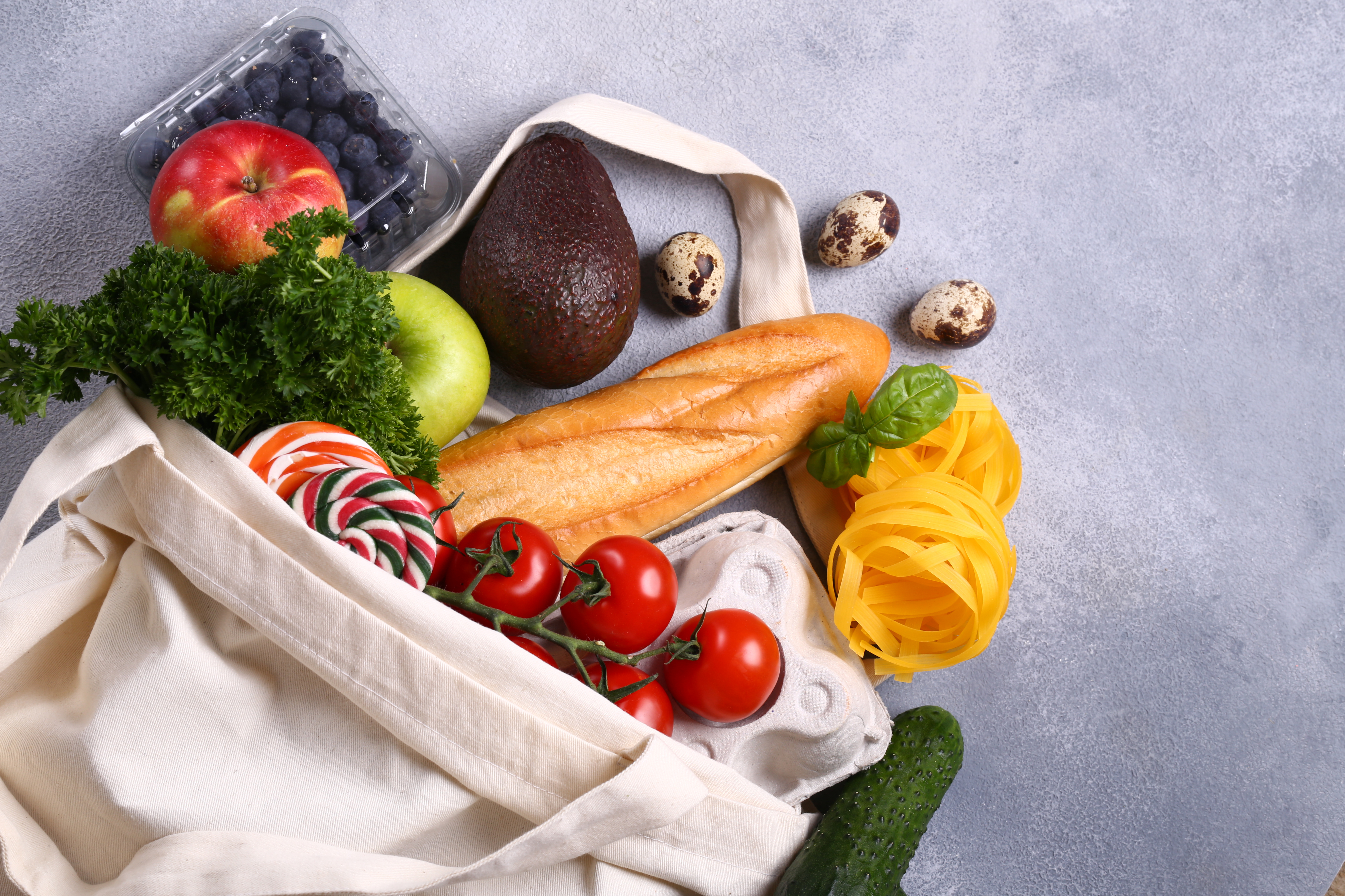 Canva - Vegetables Fruits and Produce in a Shopping Bag (1)